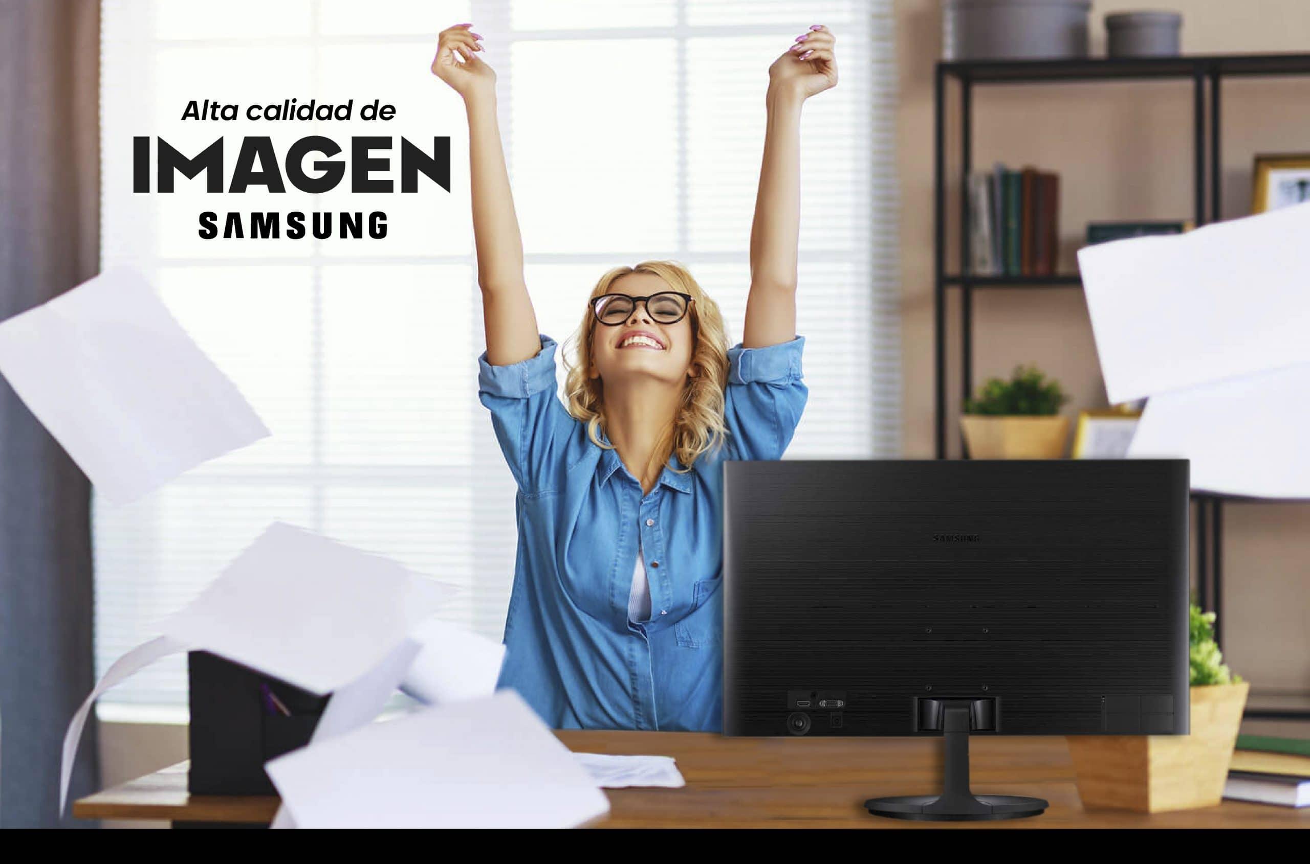 monitor para trabajar desde casa
